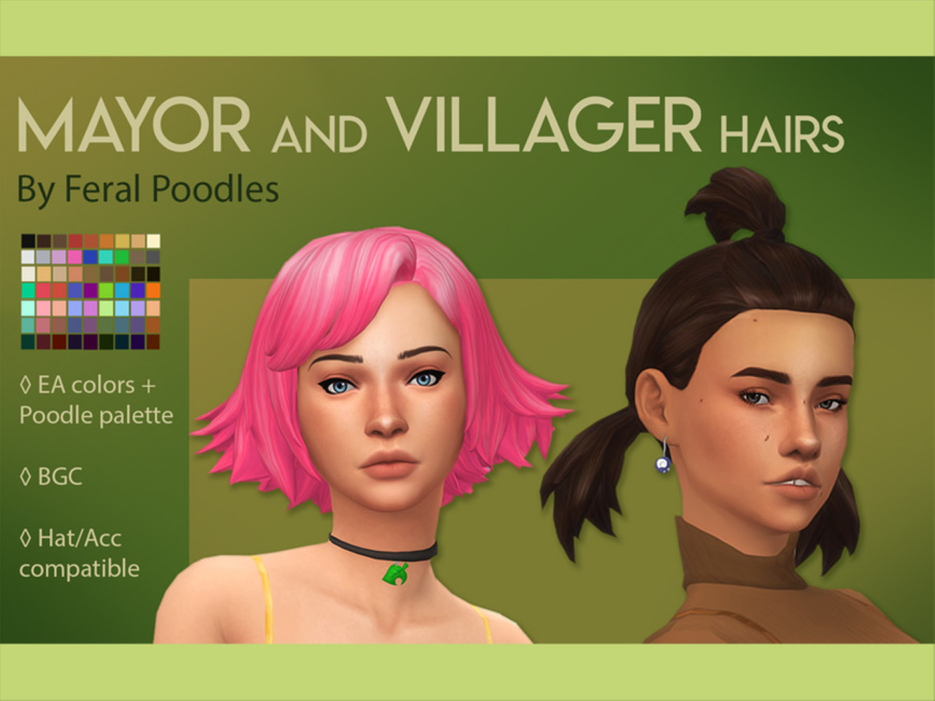 Brighten Up Your Sim With This Sims 4 Maxis Match Hair Cc
