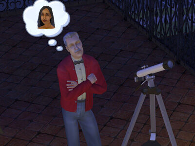Mortimer Goth Sims 2