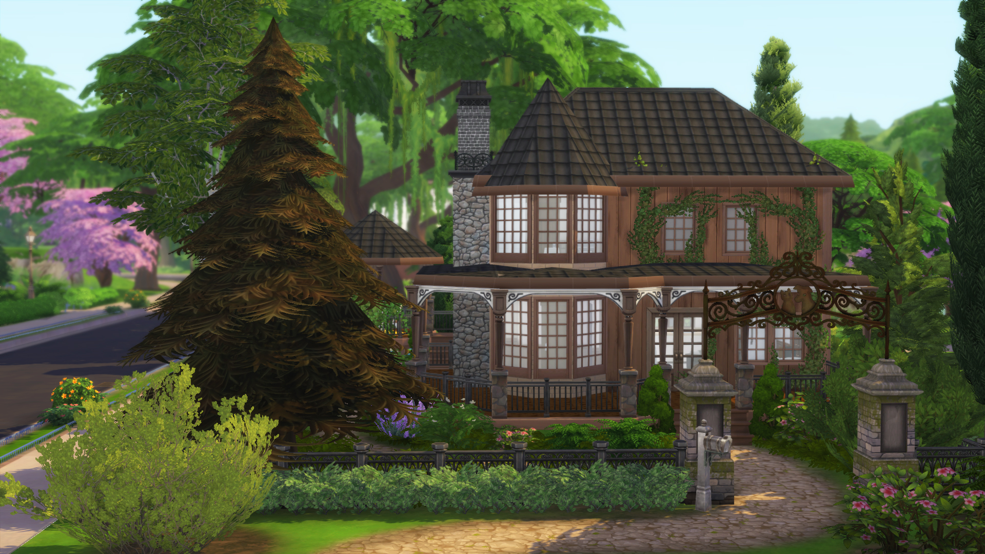 Sims 4 haunted House