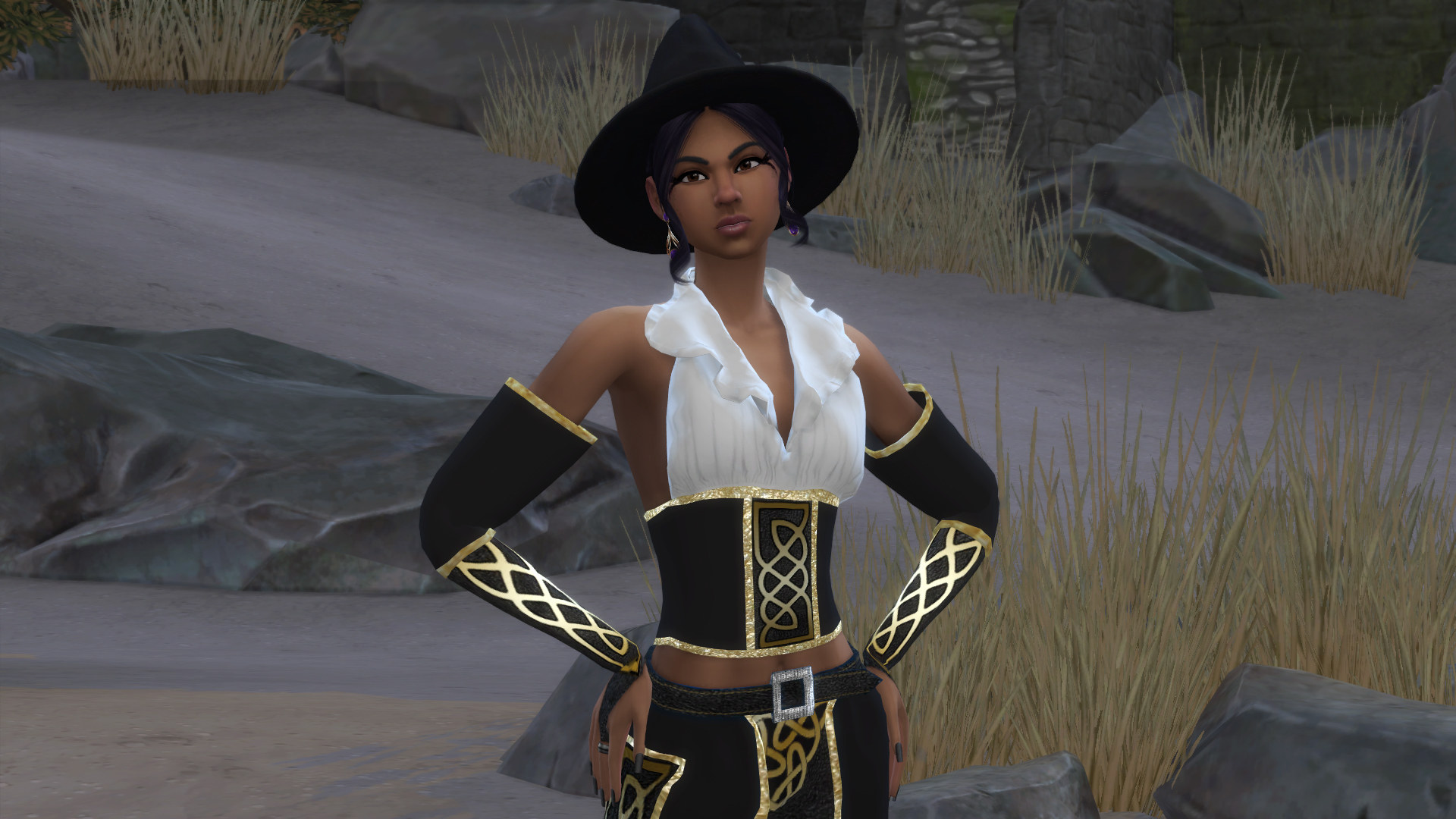 Sims 4 Witch